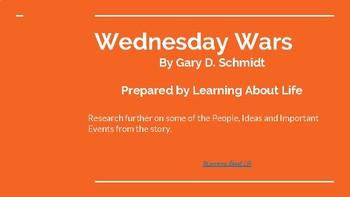 Wednesday Wars Novel Study