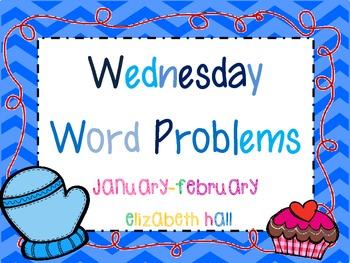 Wednesday Word Problems January-February