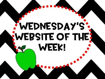 Wednesday's Website of the Week Spelling City