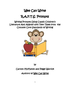 Wee Can Write R.A.F.T.S. Prompts Aligned with the Common C