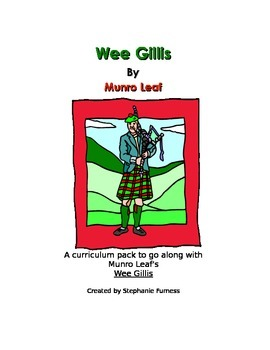 Wee Gillis Curriculum Pack