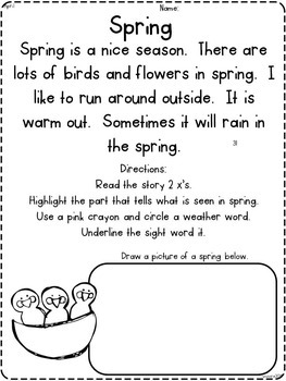 Fluency - Wee Little Reading 2 SECOND EDITION { incorporating close reading }