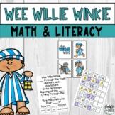 Wee Willie Winkie Nursery Rhyme Literacy Math Activity Mini Unit