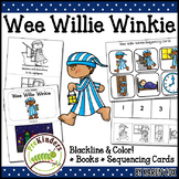 Wee Willie Winkie Rhyme: Books & Sequencing Cards