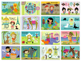 Wee are the World postcards— set of 16 cards