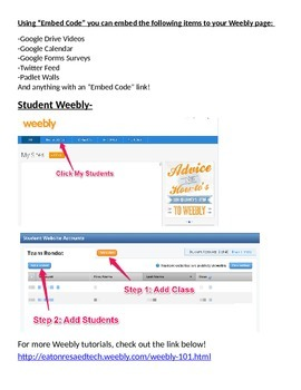 Weebly 101