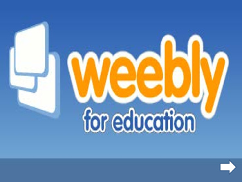 Weebly Class Blog