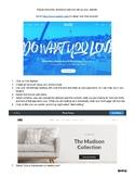 Weebly Website Setup!