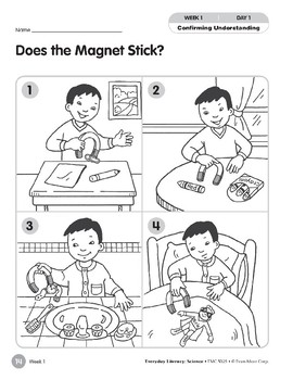 Week 01: Does the Magnet Stick? (Everyday Literacy, Science)