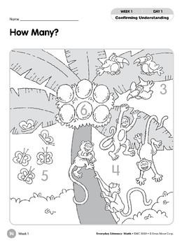 Week 01: How Many? (Everyday Literacy, Math)