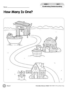 Week 01: How Many Is One? (Everyday Literacy, Math)