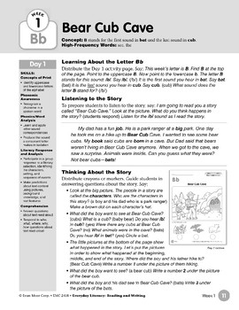 Week 01: Initial & Final Bb (Everyday Literacy, Reading & Writing)