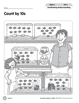 Week 03: Count by 10s (Everyday Literacy, Math)