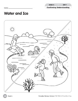Week 04: Water and Ice (Everyday Literacy, Science)