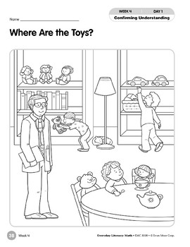 Week 04: Where Are the Toys? (Everyday Literacy, Math)