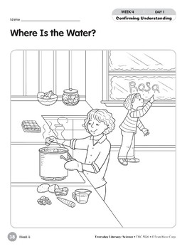 Week 04: Where Is the Water? (Everyday Literacy, Science)