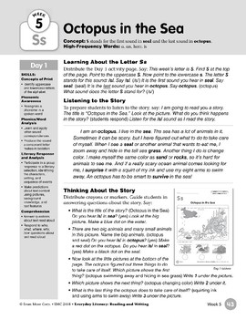 Week 05: Initial & Final Ss (Everyday Literacy, Reading & Writing)