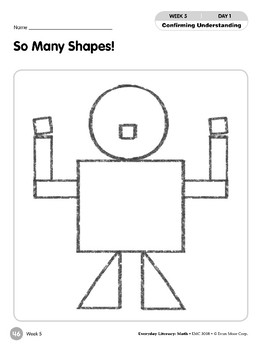 Week 05: So Many Shapes! (Everyday Literacy, Math)