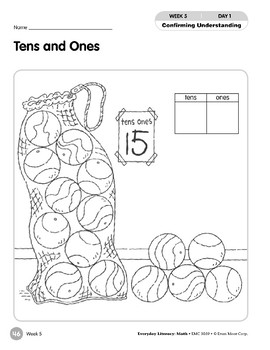 Week 05: Tens and Ones (Everyday Literacy, Math)