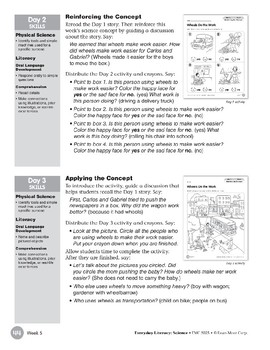 Week 05: Wheels Do the Work (Everyday Literacy, Science)