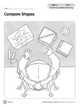 Week 06: Compare Shapes (Everyday Literacy, Math)