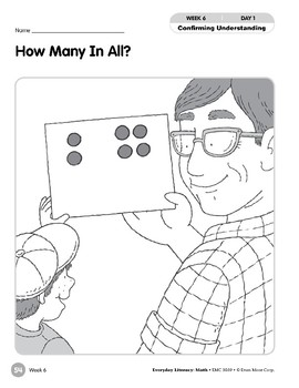Week 06: How Many In All? (Everyday Literacy, Math)