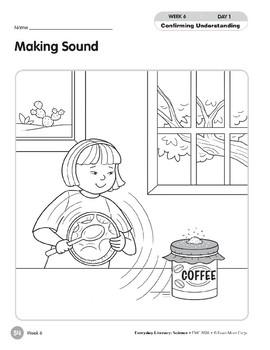 Week 06: Making Sound (Everyday Literacy, Science)