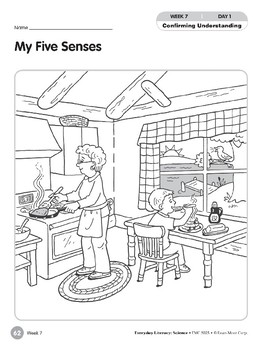Week 07: My Five Senses (Everyday Literacy, Science)