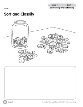 Week 07: Sort and Classify (Everyday Literacy, Math)