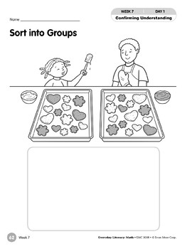 Week 07: Sort into Groups (Everyday Literacy, Math)