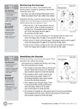 Week 07: What People Need (Everyday Literacy, Science)
