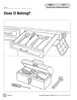 Week 08: Does It Belong? (Everyday Literacy, Math)