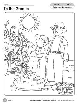 Week 08: In the Garden (Everyday Literacy, Listening & Speaking)