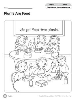Week 08: Plants Are Food (Everyday Literacy, Science)
