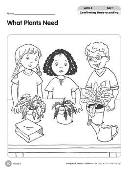 Week 08: What Plants Need (Everyday Literacy, Science)