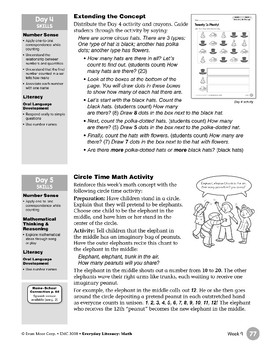 Week 09: Twenty Is Plenty! (Everyday Literacy, Math)
