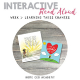 What Do You Do With a Chance Read Aloud (Week 1 Kindergart