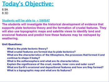 Week 1 Plate Tectonics
