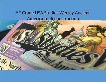 Studies Weekly Week 1 World/U.S. Geography (whole set)