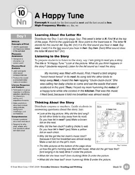 Week 10: Initial & Final Nn (Everyday Literacy, Reading & Writing)