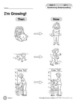 Week 11: I'm Growing! (Everyday Literacy, Science)