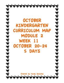 Week 11 Kindergarten Curriculum Aligned to Common Core Standards
