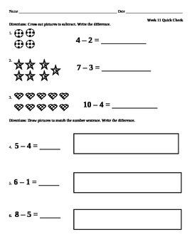Week 11 Math Quick Check