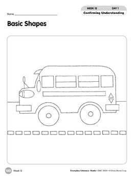 Week 12: Basic Shapes (Everyday Literacy, Math)