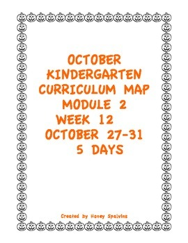 Week 12 Kindergarten Curriculum Aligned to Common Core Standards