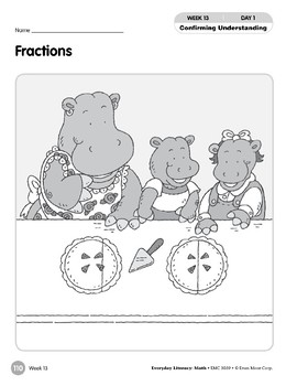 Week 13: Fractions (Everyday Literacy, Math)