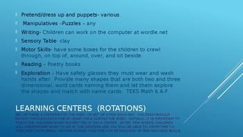Week #14 Kindergarten Lesson Plans:  Write literary texts
