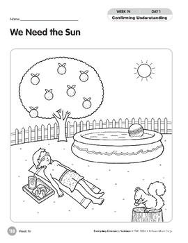 Week 14: We Need the Sun (Everyday Literacy, Science)