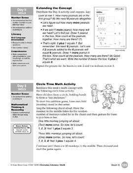 Week 15: Addition (Everyday Literacy, Math)