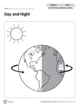 Week 15: Day and Night (Everyday Literacy, Science)